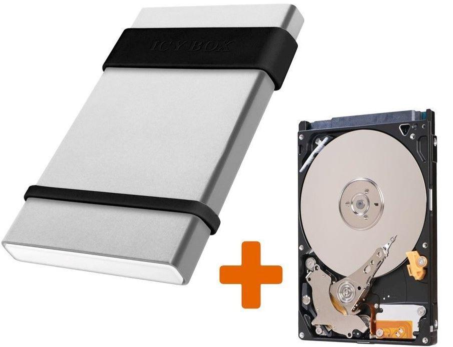 500 GB Festplatte 2.5 in RaidSonic Icy Box für 29,99€