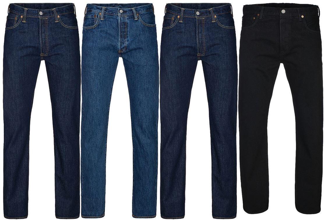 Levis 501 Original Fit Herren Jeans für je 49,99€ (statt 64€)