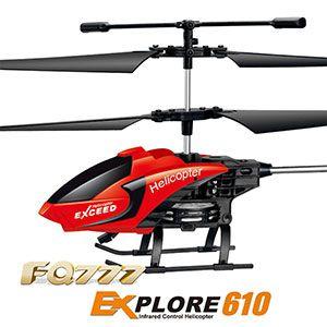 RC Helikopter FQ777 610 in 4 verschiedene Farben für je 6,43€
