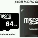 64GB microSD Karte mit Adaper Class 10 für nur 8,79€