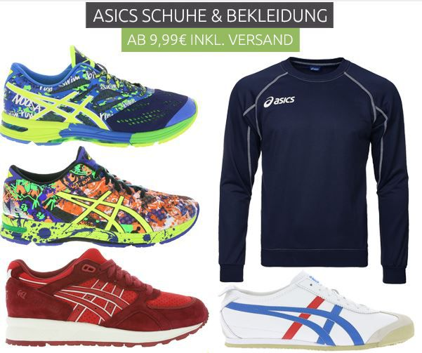 Asics Outlet Sale Asics  Sneaker & Bekleidungs Sale bei Outlet46   154 Artikel ab 9,99€