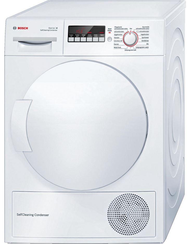 BOSCH WTW 83260 Kondensationstrockner mit Wärmepumpentechnologie für 489€ (statt 545€)