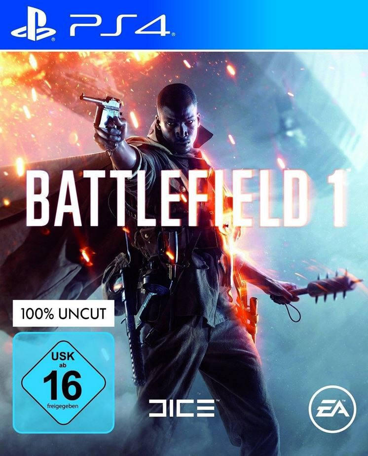Battlefield 1 PS4 Battlefield 1 (PS4 / Xbox One) für 34,99€