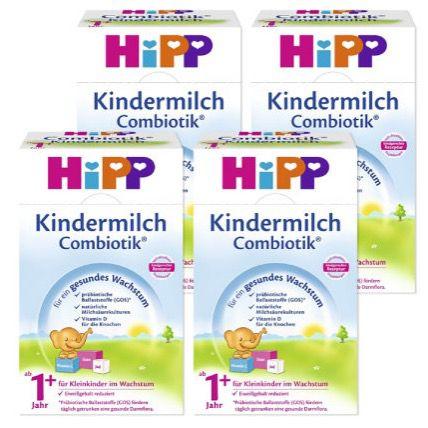 Bildschirmfoto 2016 10 04 um 15.03.40 8er Pack HiPP Combiotik Kindermilch ab 1 Jahr je 600g für 64,98€ (statt 84€)