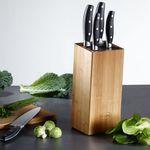 Rösle Messerblock aus Bambus 6-teilig für 33,85€ (statt 50€)