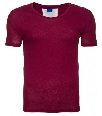 JOOP Herren Freizeitshirt in Rot für 7,99€ (statt 21€)