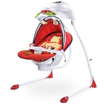 Caretero Babyschaukel mit Lichtern & drehbarem Sitz für 99,95€ (statt 130€)