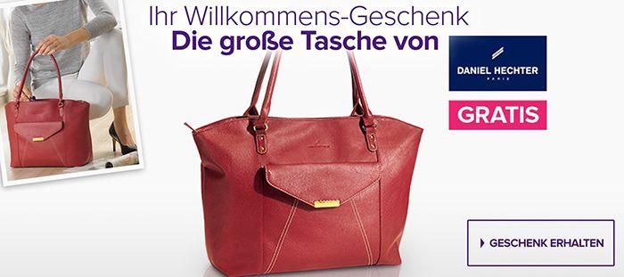 Gratis Tasche von Daniel Hechter + gratis Lippenstift + VSK frei ab 15€