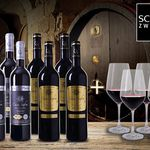 8 Flaschen Gran Reserva + 4 Rotwein-Gläser für 44,90€ – alle Weine prämiert!