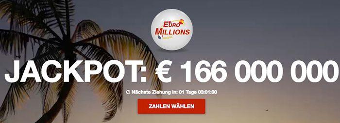 Bildschirmfoto 2016 10 10 um 15.28.57 303 Felder EuroMillions (166 Mio. Jackpot) + 20 Rubbellose für 7,49€