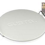 Gusta Pizzastein 33cm mit Tragegriffen für 13,90€ (statt 17€)
