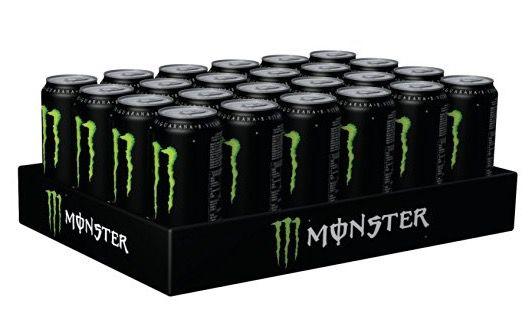 24er Pack Monster Green Energy ab 20,29€ + Pfand