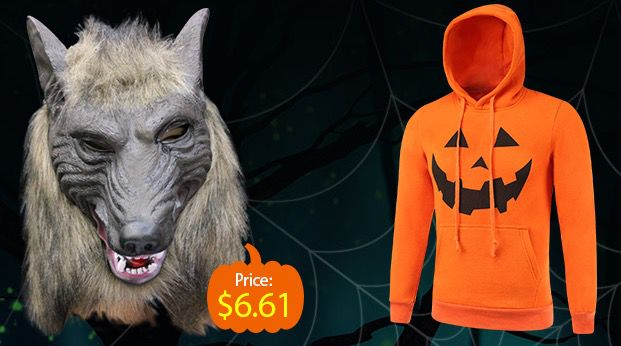 Halloween Sale bei Gearbest   z.B. Wolfmaske ab 6€