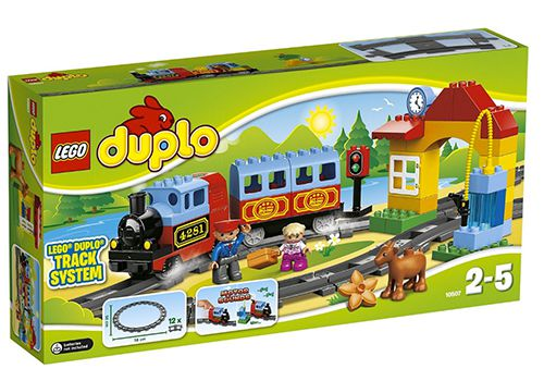 Lego Duplo Eisenbahn Starter Set für 33€ (statt 40€)