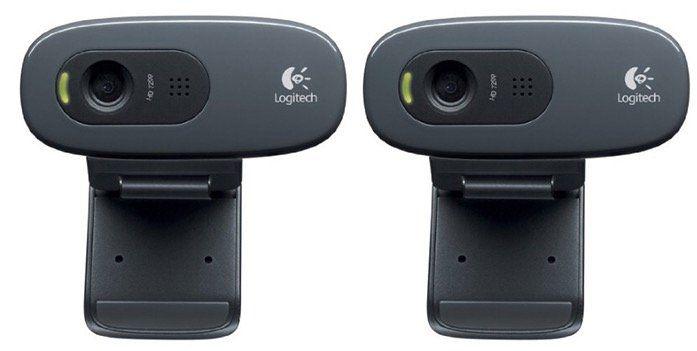 Doppelpack Logitech HD Webcam C270 für 35,90€ (statt 50€)