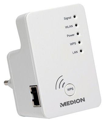Medion P89137 WLAN Repeater für 19,95€ (statt 25€)