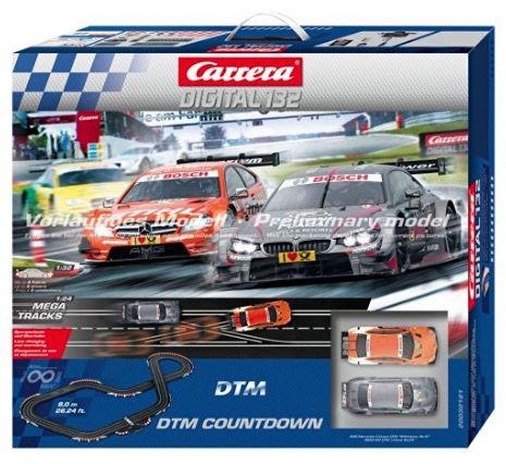 Carrera Digital 132 DTM Countdown Rennbahn für 199,20€(statt 248€)