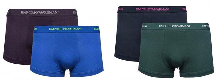 2er Pack Emporio Armani Parigamba Herren Boxershorts für 15,46€ (statt 27€)
