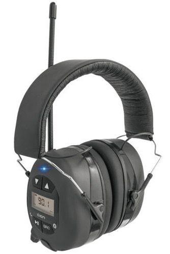 Ion Audio Gehörschutz Kopfhörer Tough Sounds mit Bluetooth und Radio für 64€ (statt 73€)