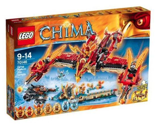 Lego Chima Phoenix Fliegender Feuertempel für 53,99€ (statt 89€)