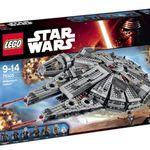 Ausverkauft! Lego Star Wars Millennium Falcon für 98,10€ (statt 120€)