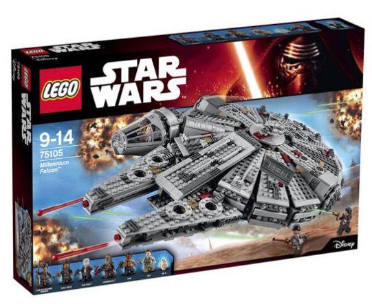 Lego Star Wars Millennium Falcon für 104,99€ (statt 130€)