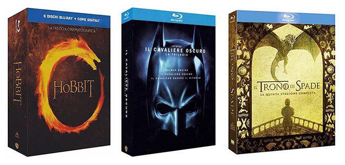 Gutscheinfehler! Nur VSK auf ausgewählte Filme/Serien zahlen bei Amazon IT   z.B. The Dark Knight Blu ray Trilogie für 4€