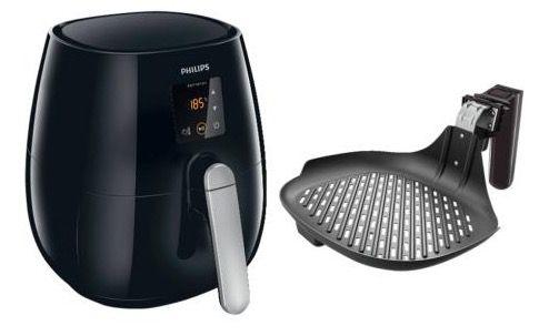 Philips HD9236/20 Heißluftfritteuse + Grillpfanne für 129,99€ (statt 178€)