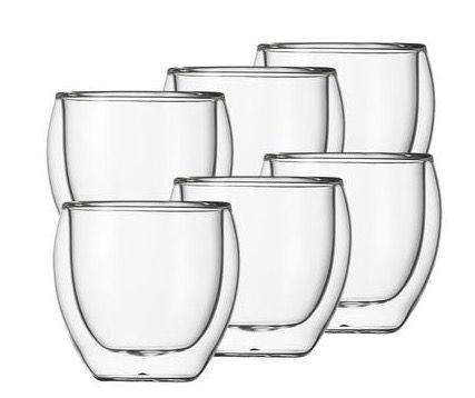 6er Set Schott Zwiesel Doppelwandige Gläser für 20,90€