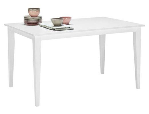 Esstisch Carol in Weiß für 49€   Maße 140 x 76 x 90cm