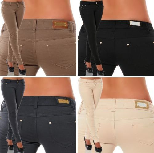 Noname Damen Stretch Hosen für 15,15€