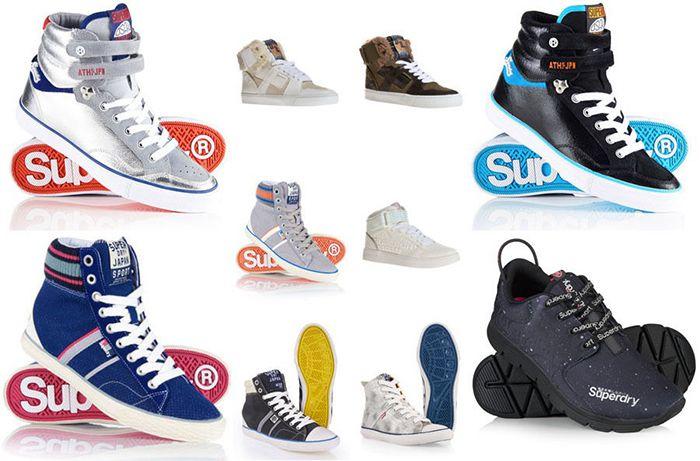 Bildschirmfoto 2016 10 20 um 08.12.48 Superdry Damen Sneaker für je 34,95€ (statt 45€)