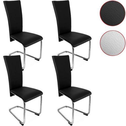 4er Set Deuba Freischwinger Esszimmerstühle für 99,95€