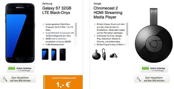 Bildschirmfoto 2016 10 20 um 09.31.25 otelo XL mit 2,5GB + Galaxy S7 + Chromecast 2 oder Minidrohne für nur 29,99€ mtl.
