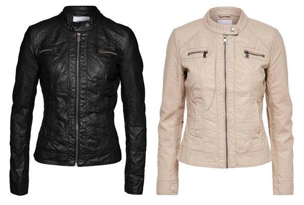 Only Damen Jacke in Lederoptik für 19,95€ (statt 29€)