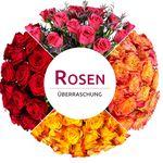 28 Rosen in Überraschungsfarbe für 18,90€