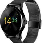 K88H Smartwatch mit Metall-Armband und Siri-Funktion für 40€