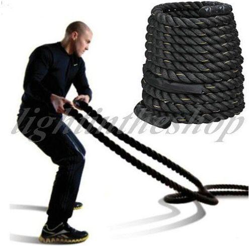 Battle Rope Trainingsseil ab 17€ (statt 30€)