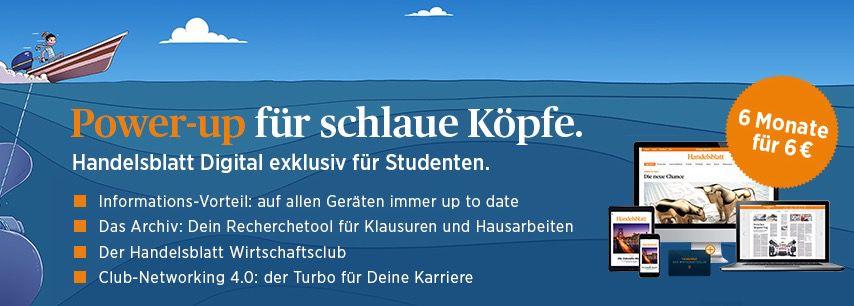 Bildschirmfoto 2016 10 21 um 09.31.58 6 Monate Handelsblatt Digitalpass für nur 6€   nur für Studenten
