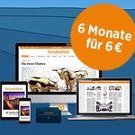 6 Monate Handelsblatt Digitalpass für nur 6€ – nur für Studenten