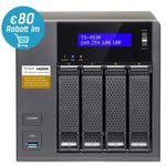 Vorbei! QNAP TS-453A-8G 4-Bay Leergehäuse für 374€ (statt 529€)