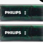 2er Pack Philips USB 2.0 Stick mit je 8GB für 7,77€ (statt 12€)