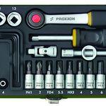 Proxxon 23080 Steckschlüsselsatz metrisch 1/4″ (6.3 mm) 36-teilig für 25,19€ (statt 32€)