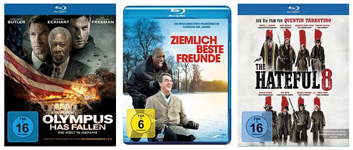 Vorbei? Blu rays für exakt 5€ + VSK frei bei Abholung