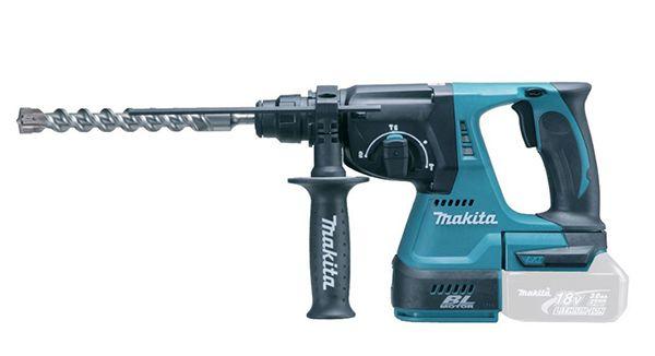 Makita DHR242Z Bohrhammer 18V für 160€ (statt 195€)   ohne Akku & Ladegerät!