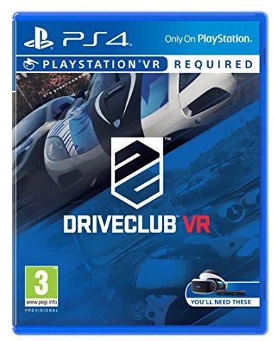 DriveClub VR (PS4) für 10€ (statt 19€)