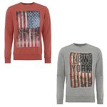 Jack & Jones Sweatshirt mit Flaggen-Print für 13,99€