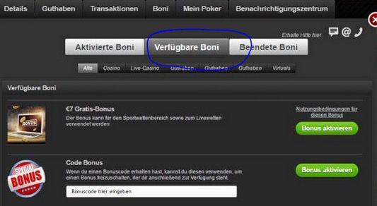 7€ Bonus bei BetSafe für Neukunden