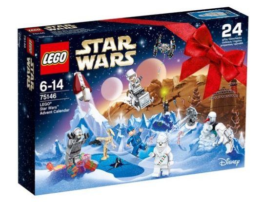 Günstige Adventskalender   z.B. Lego Star Wars Adventskalender 2016 für 18,98€ (statt 25€)