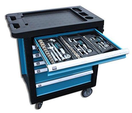 hanSe Werkstattwagen mit professionellen Werkzeugen gefüllt für 349€ (statt 383€)